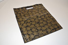 Black/Gold Design Carrier Bags