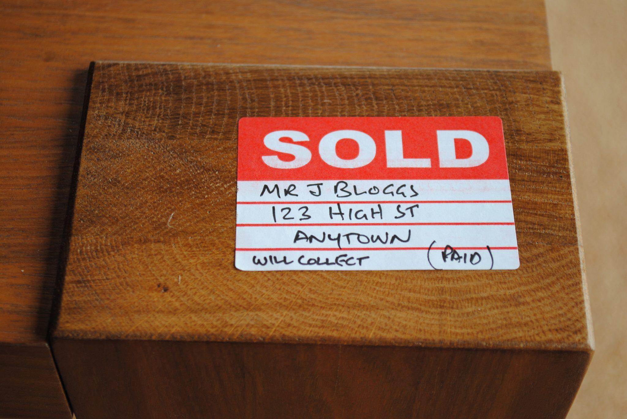68x40mm Sold Label Lion Labels Amp Packaging Ltd