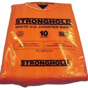 Pouched HDPE Counter Bags