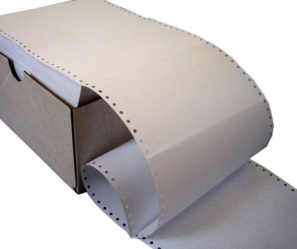 60gsm Plain Listing Paper