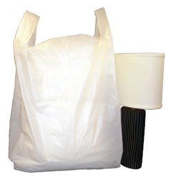 Extra Large Carrier Bags, White Sacks & Wallpaper Carriers