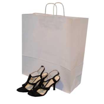 Large Paper Twist Handle Carrier Bag