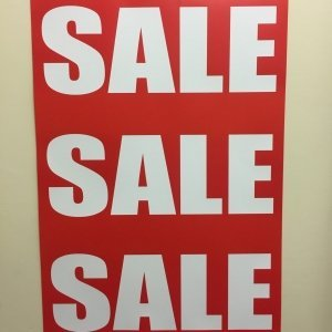 Large Sale Posters